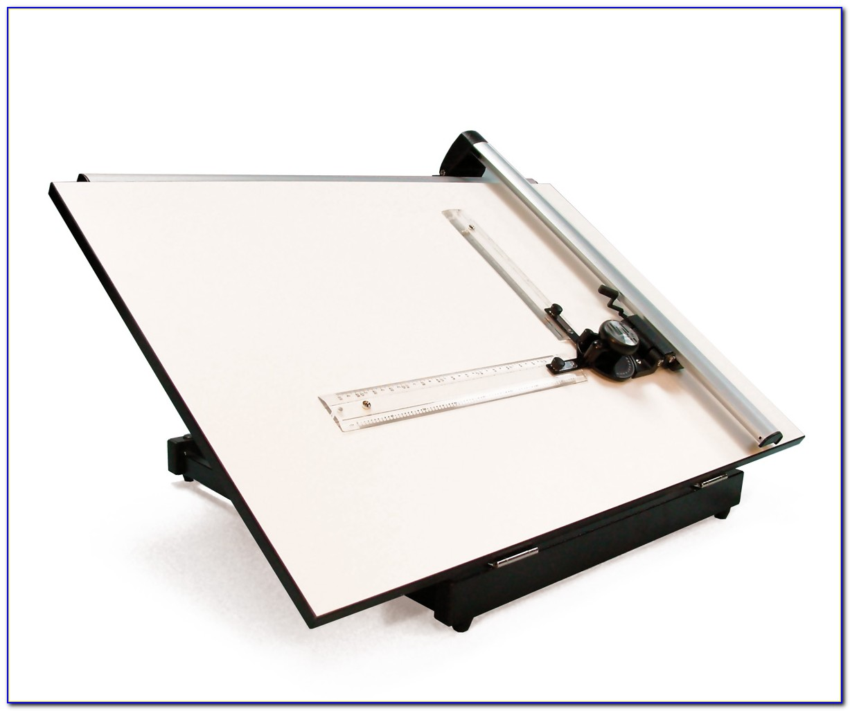 Wood Table Top Drafting Table