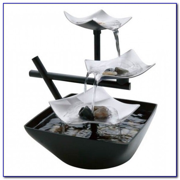 Zen Tabletop Fountain Chime