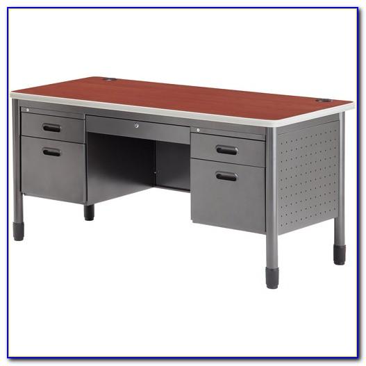 1 Mainstays Student Desk Multiple Finishes Color Alder Oak