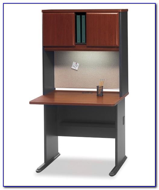 36 Inch Wide Desk White