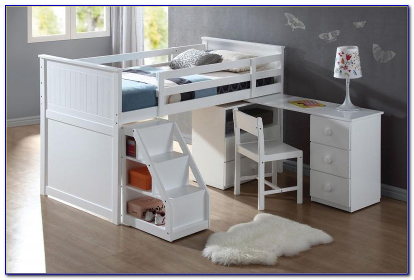 Arbor Creek Bunk Bed With Desk & Storage Combo By Canyon