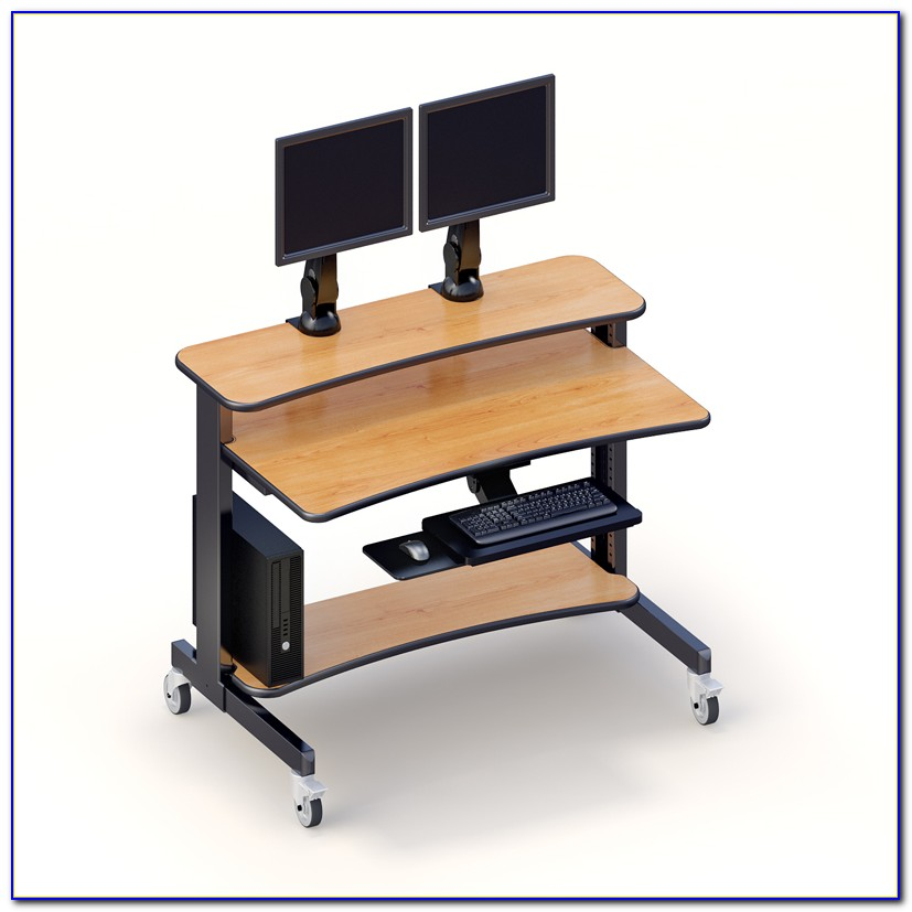 Best Computer Desk For 2 Monitors
