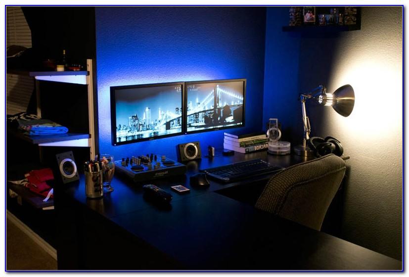 Best Corner Desk For Multiple Monitors
