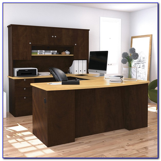 Bestar Logan U Shaped Desk
