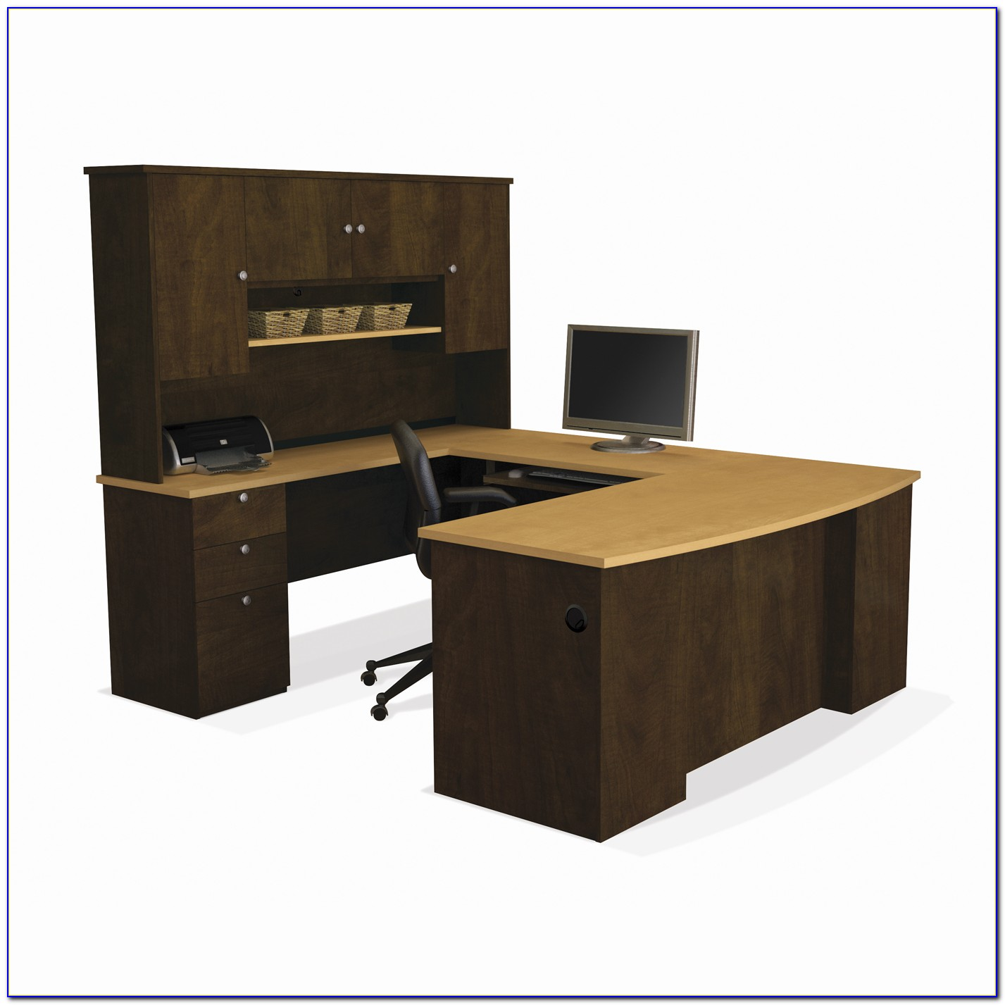 Bestar Manhattan U Shaped Desk