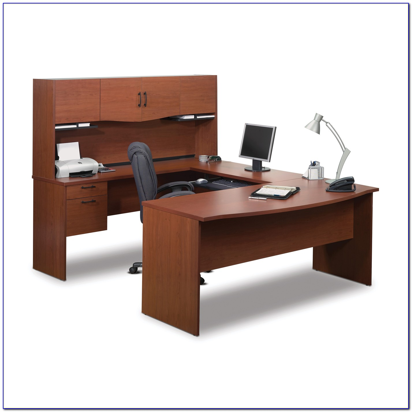 Bestar U Shaped Office Desk