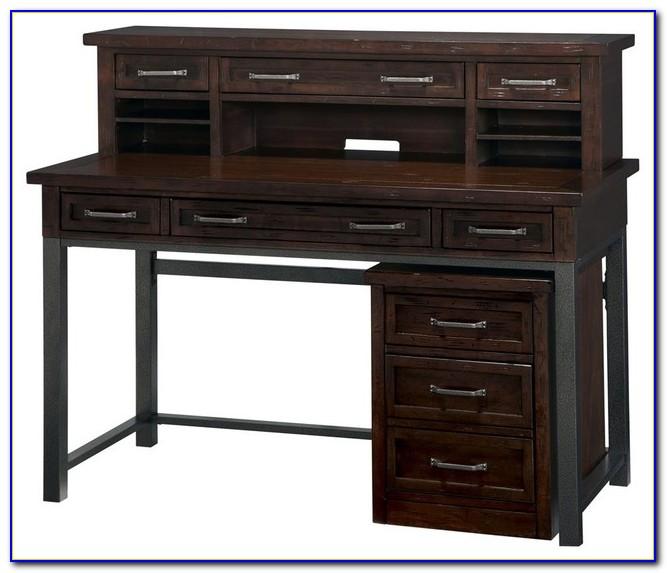 Black Desk With Hutch And Drawers