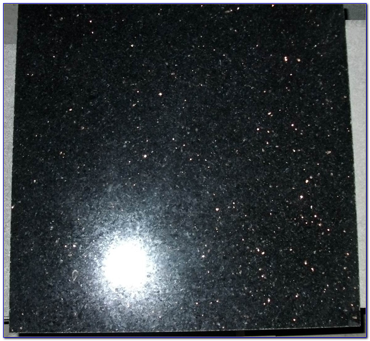 Black Galaxy Granite Tile 12x12