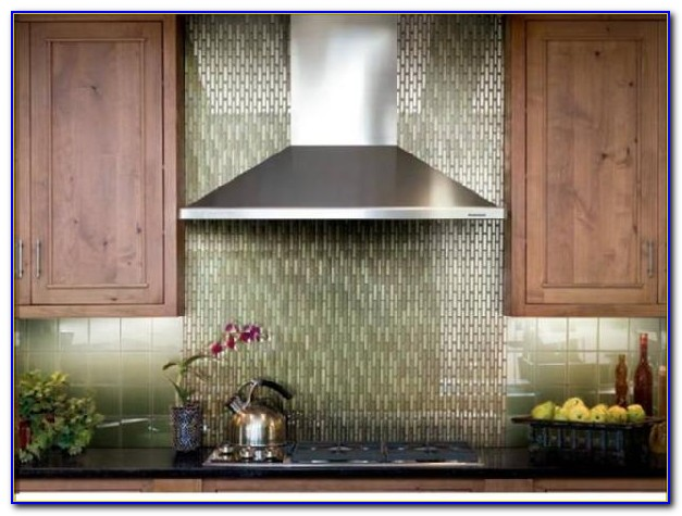 Black Glass Tile Backsplash Pictures