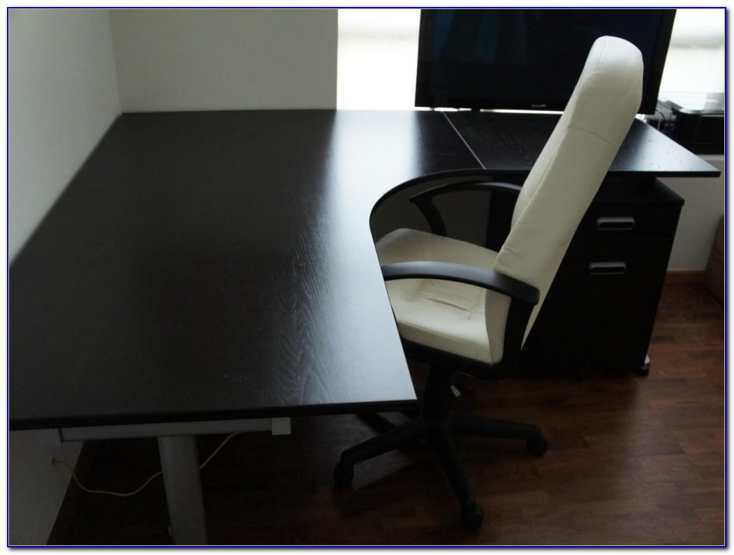Black L Shaped Desk Ikea