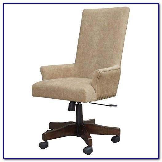 Brock Upholstered Swivel Desk Chair