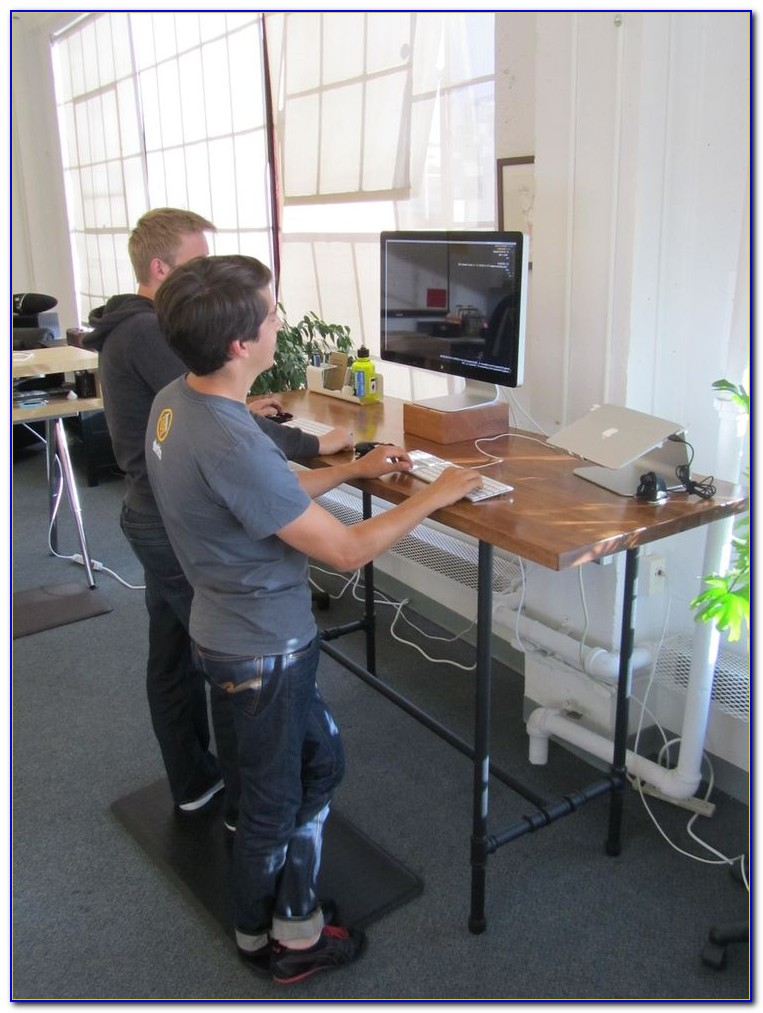 Build A Sitting Standing Desk