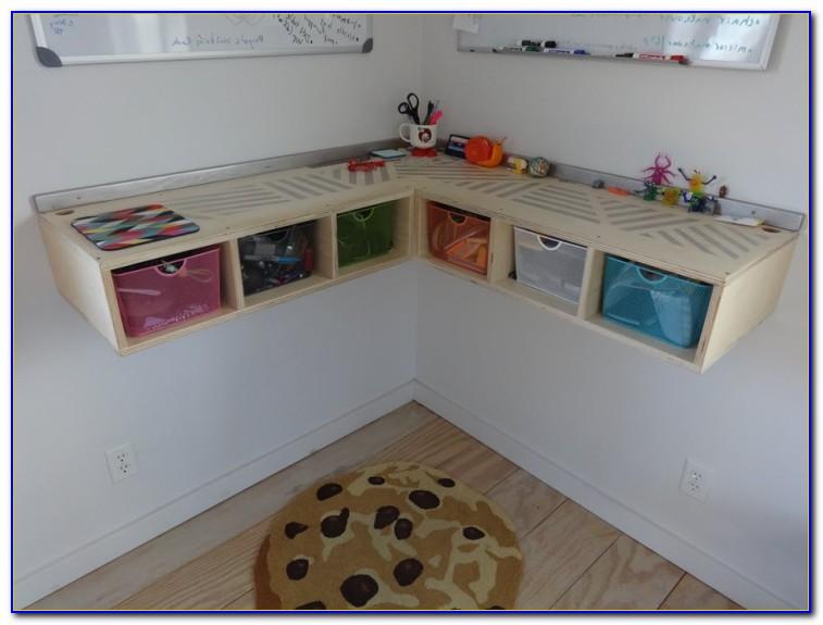 Build Wall Mounted Corner Desk