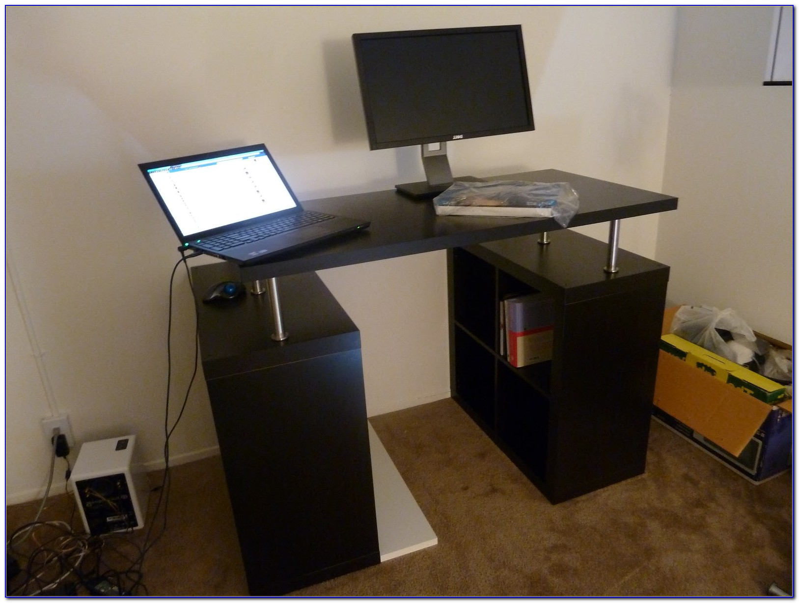 Building A Standing Desk From Scratch