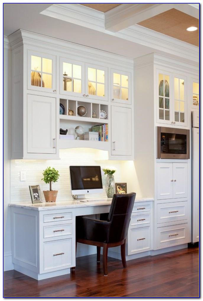 Built In Desk Cabinets Plans