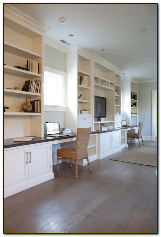 Built In Office Cabinets Houston
