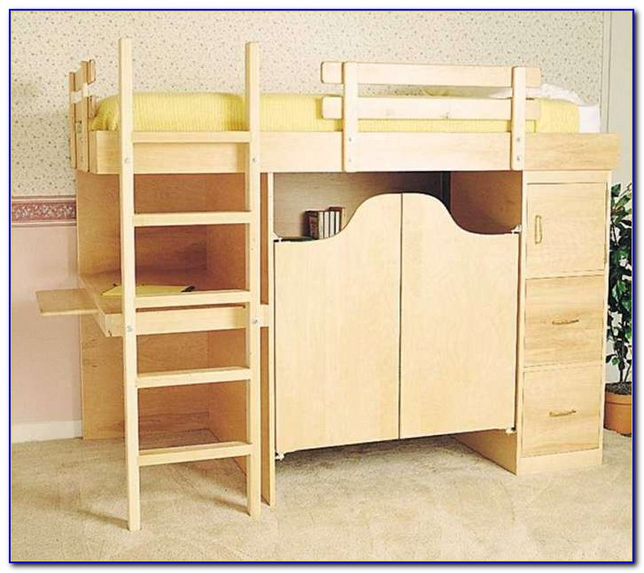Bunk Bed Desk Combo Costco