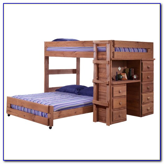 Bunk Bed With A Desk