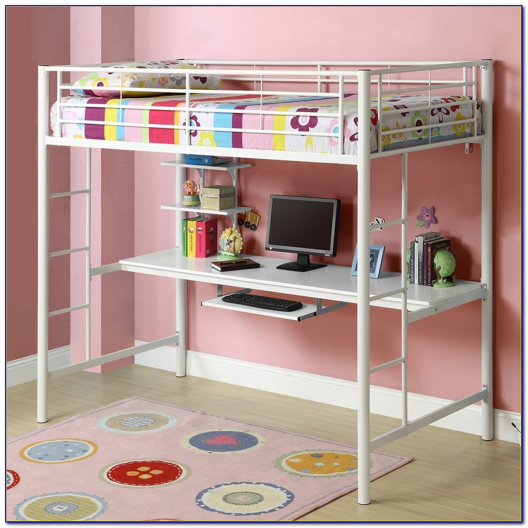 Bunk Bed With Desk For Girl