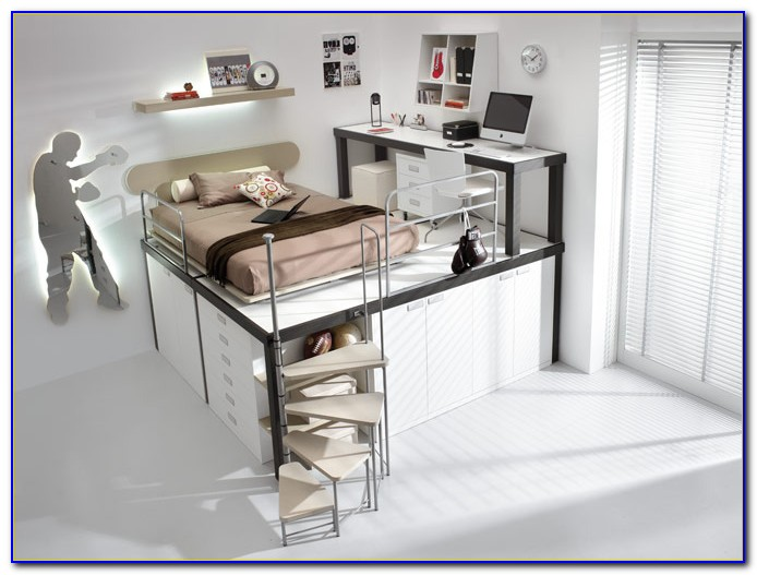 Bunk Beds With Steps And Desk