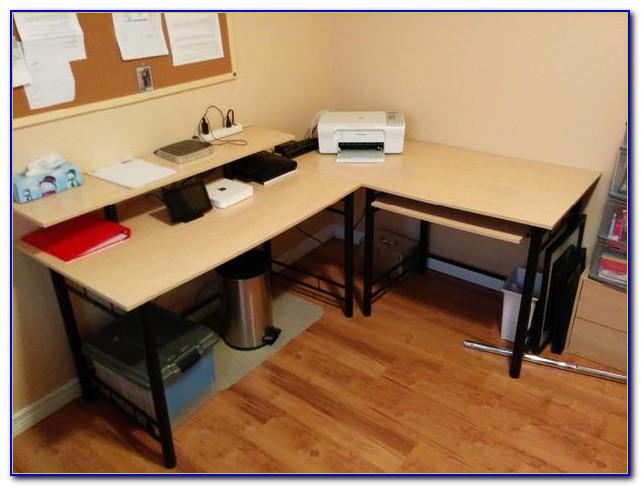 Bush Corner Desk Keyboard Tray