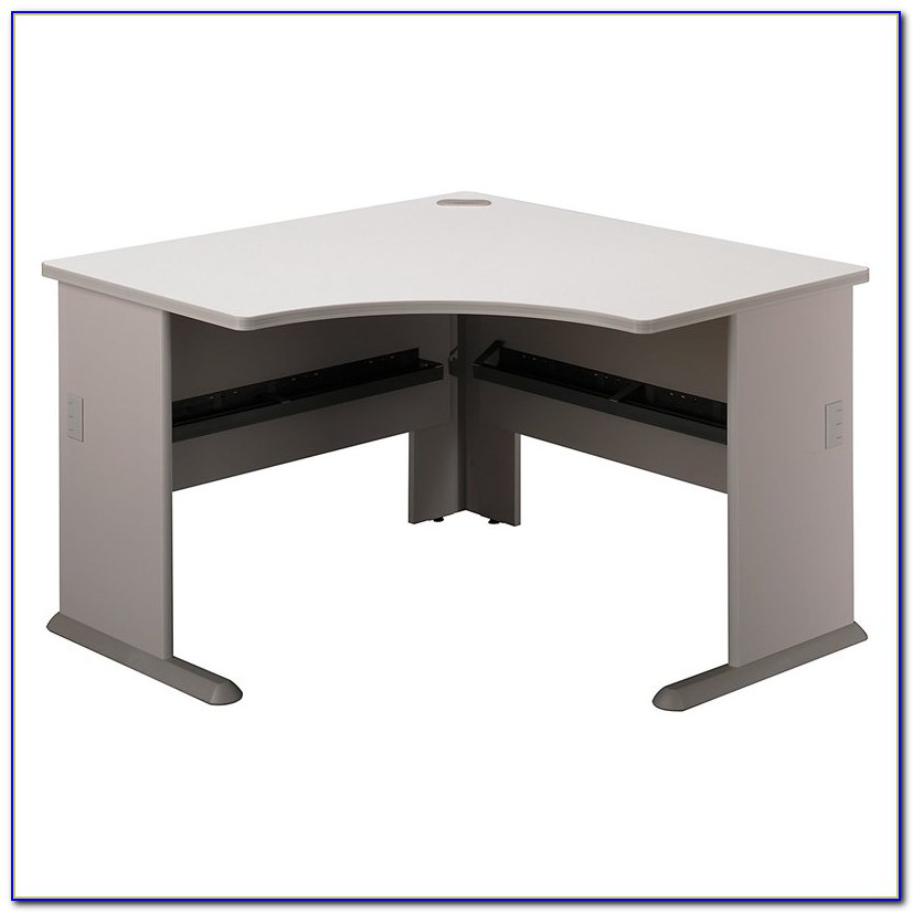 Bush Furniture Corner Desk With 3 Drawer Pedestal