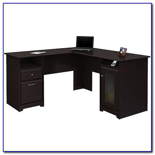 Bush L Shaped Computer Desk