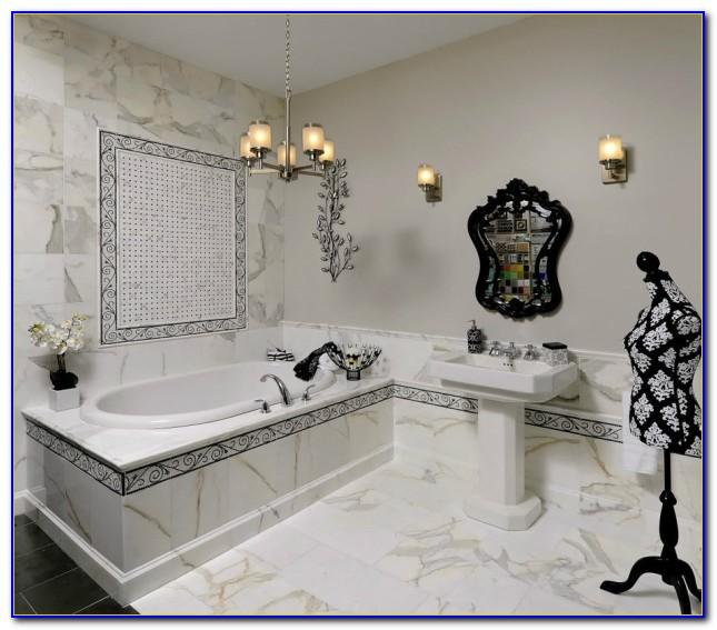 Calacatta Gold Marble Tile 24x24