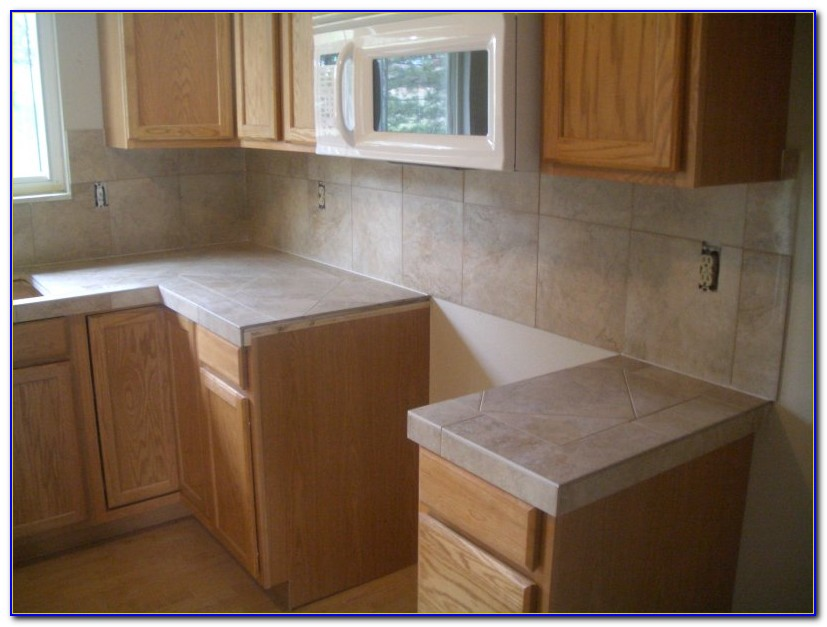 Ceramic Tile Kitchen Countertop Photos