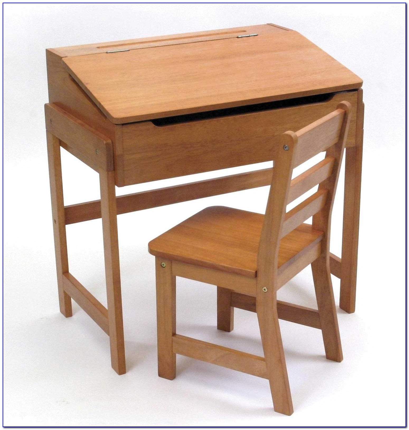 Child's Desk And Chair Set