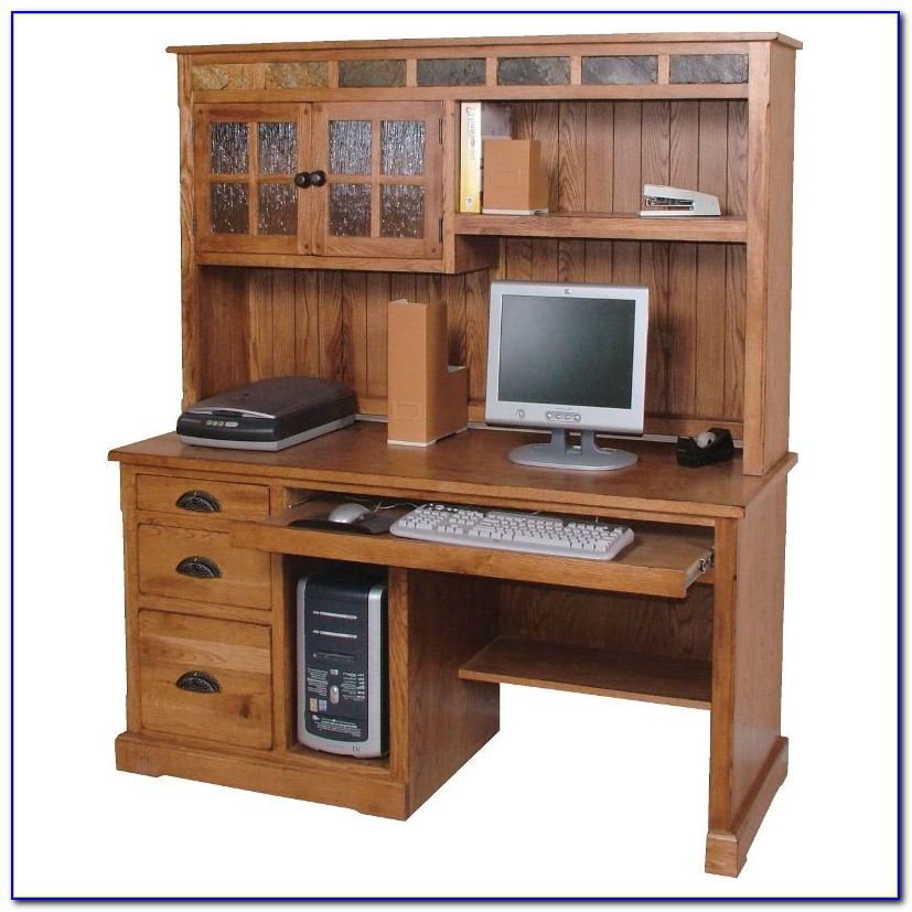 Computer Desk And Hutch For Home