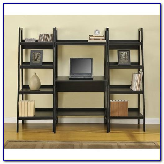 Computer Desk With Shelves