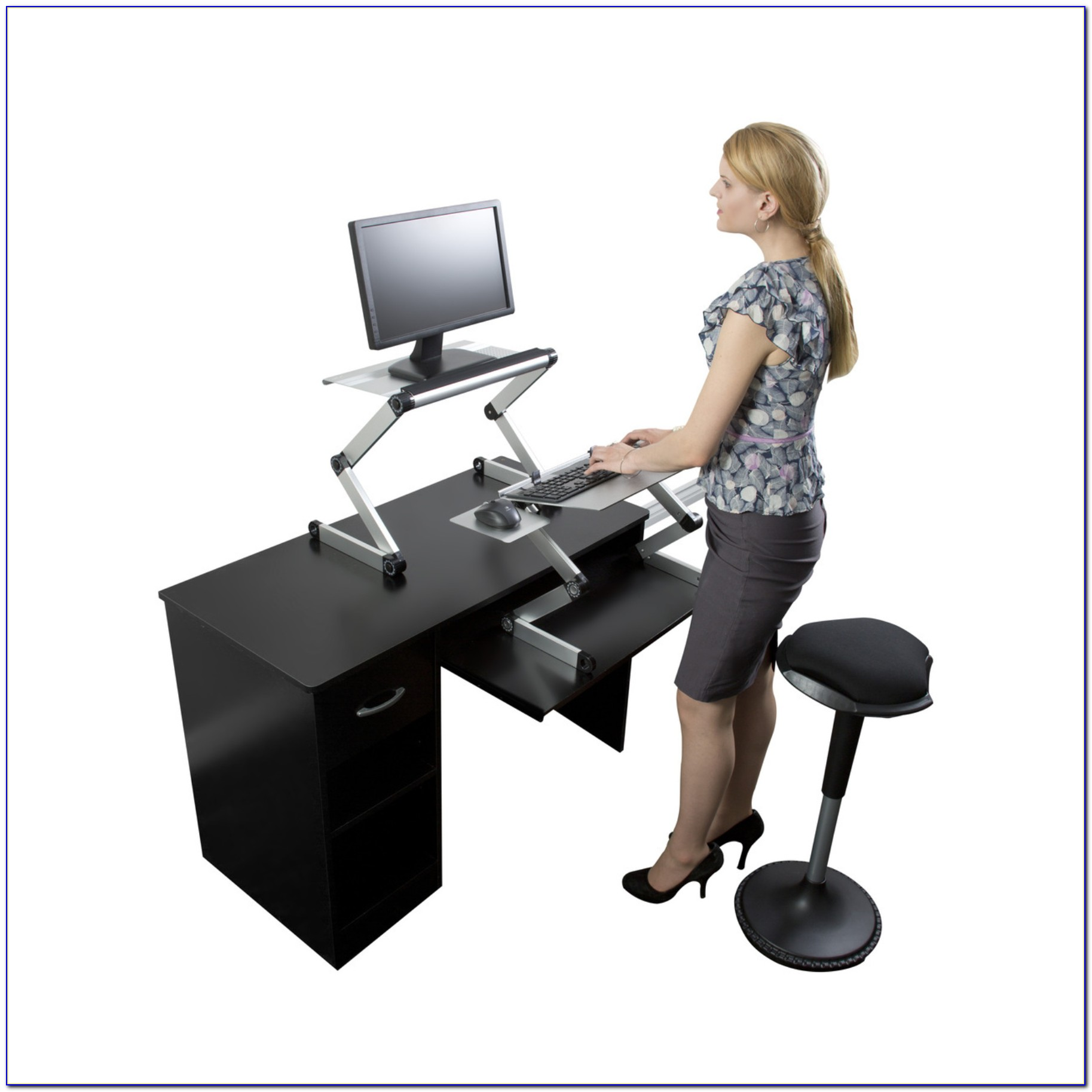 Convert Sitting Desk To Standing Desk