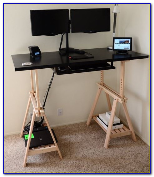 Convert Work Desk To Standing Desk