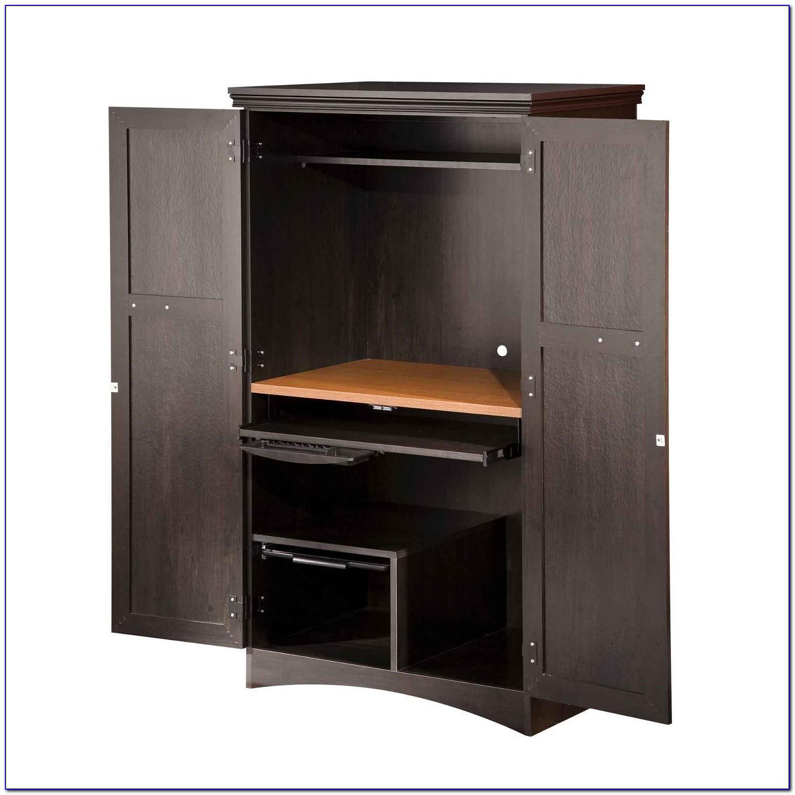 Corner Computer Armoire Furniture