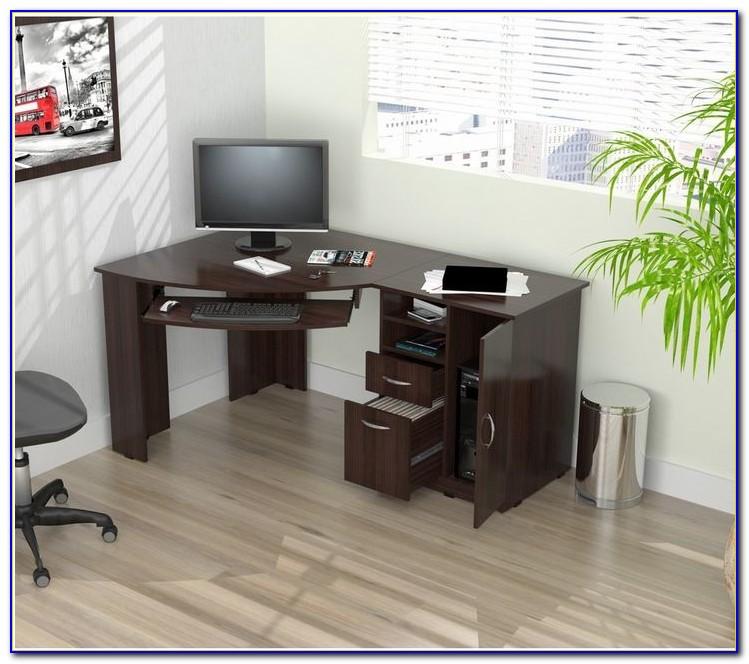 Corner Desk Gaming Setup