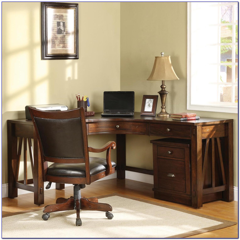 Corner Home Office Desks With Hutch