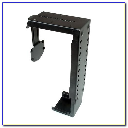Cpu Holder Under Desk Mount Small
