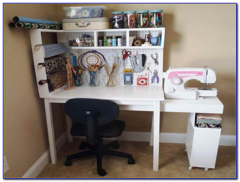Craft Desk Storage Ideas