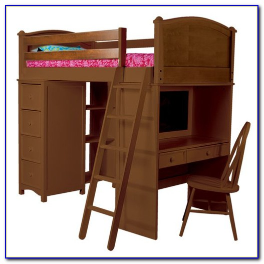 Desk And Bunk Bed Combo