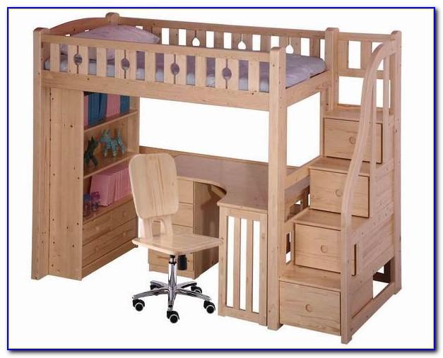 Desk Bunk Bed Combo Uk