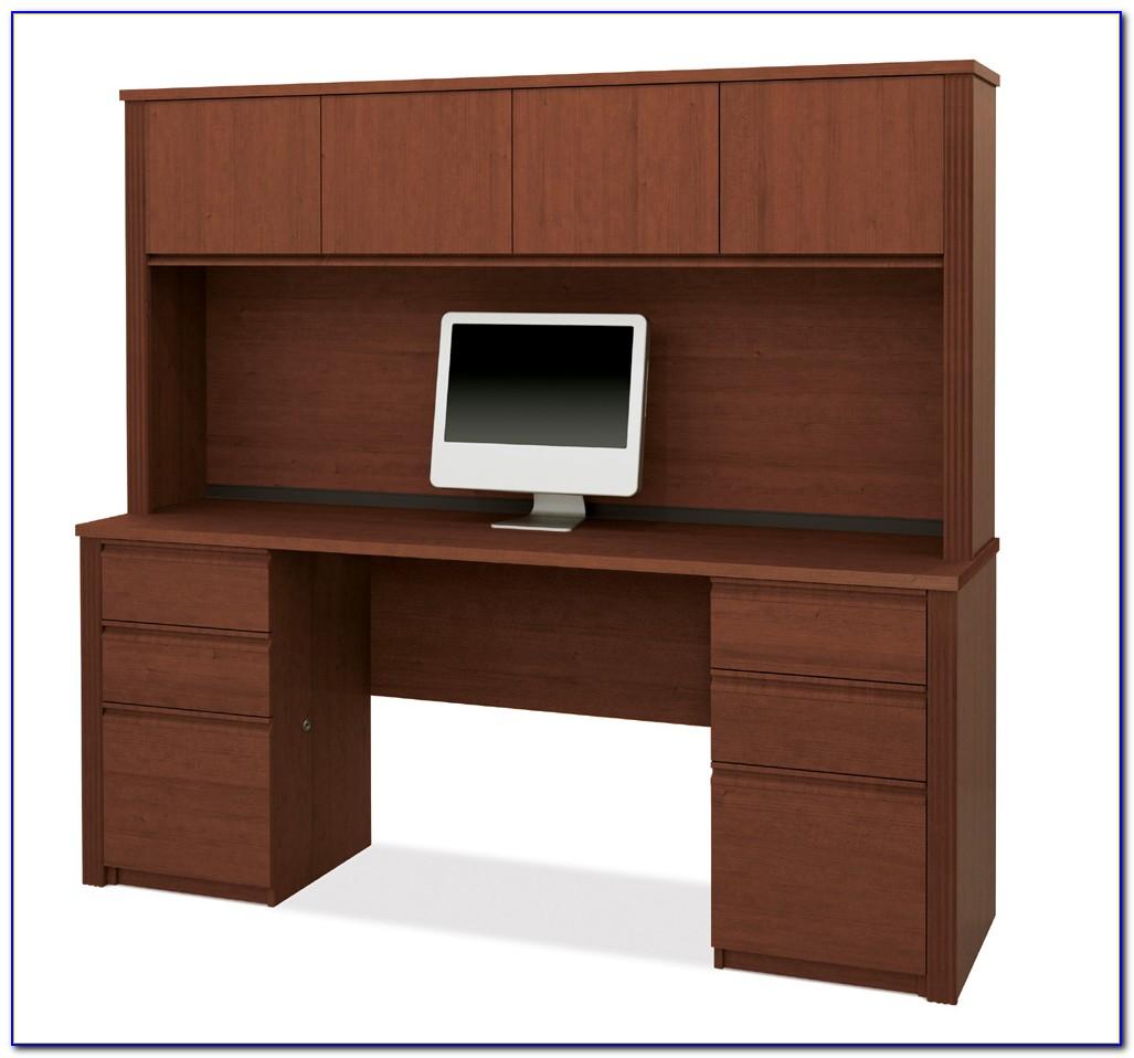 Desk Credenza Hutch Set