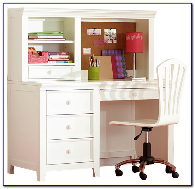 Desk With Hutch And Drawers