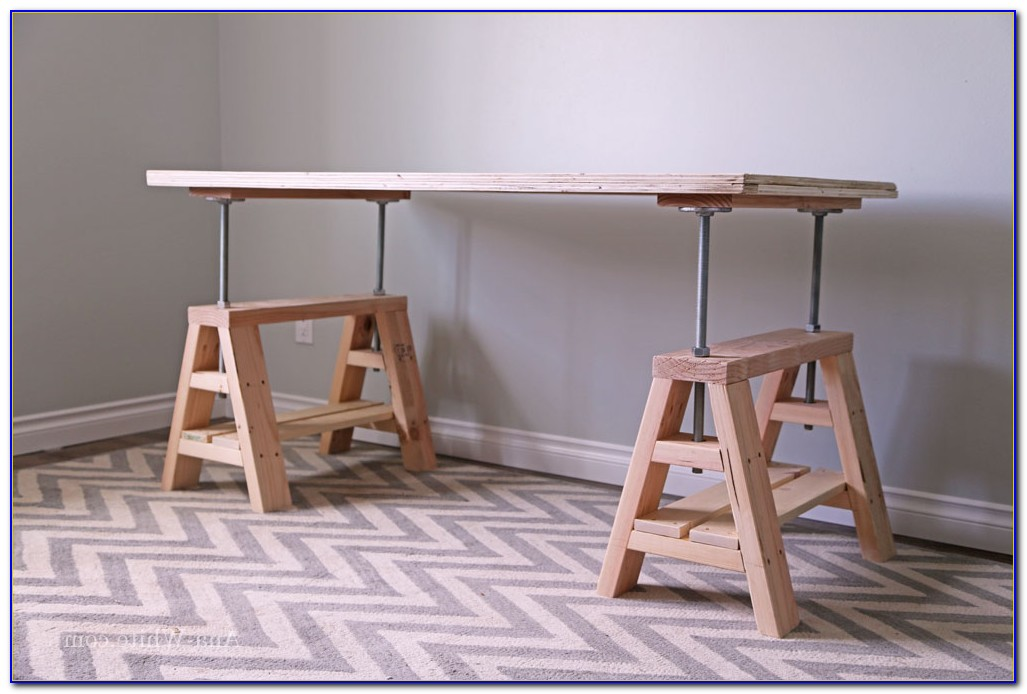 Diy Adjustable Height Desk Legs