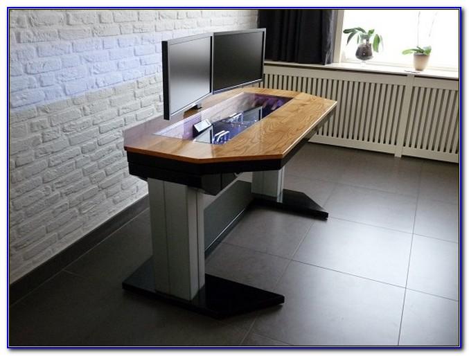 Diy Adjustable Height Desktop