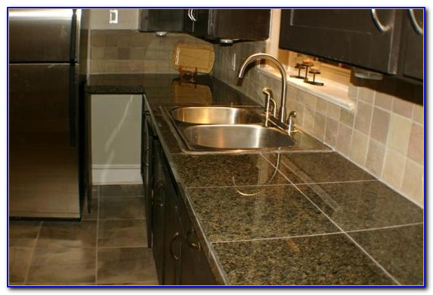 Diy Ceramic Tile Kitchen Countertops