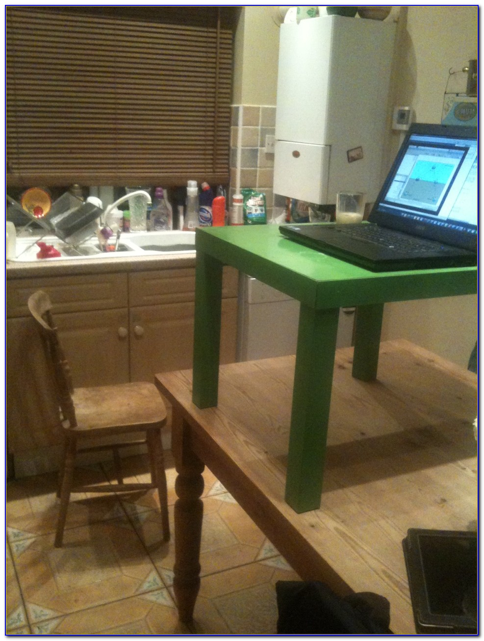 Diy Sit Stand Computer Desk