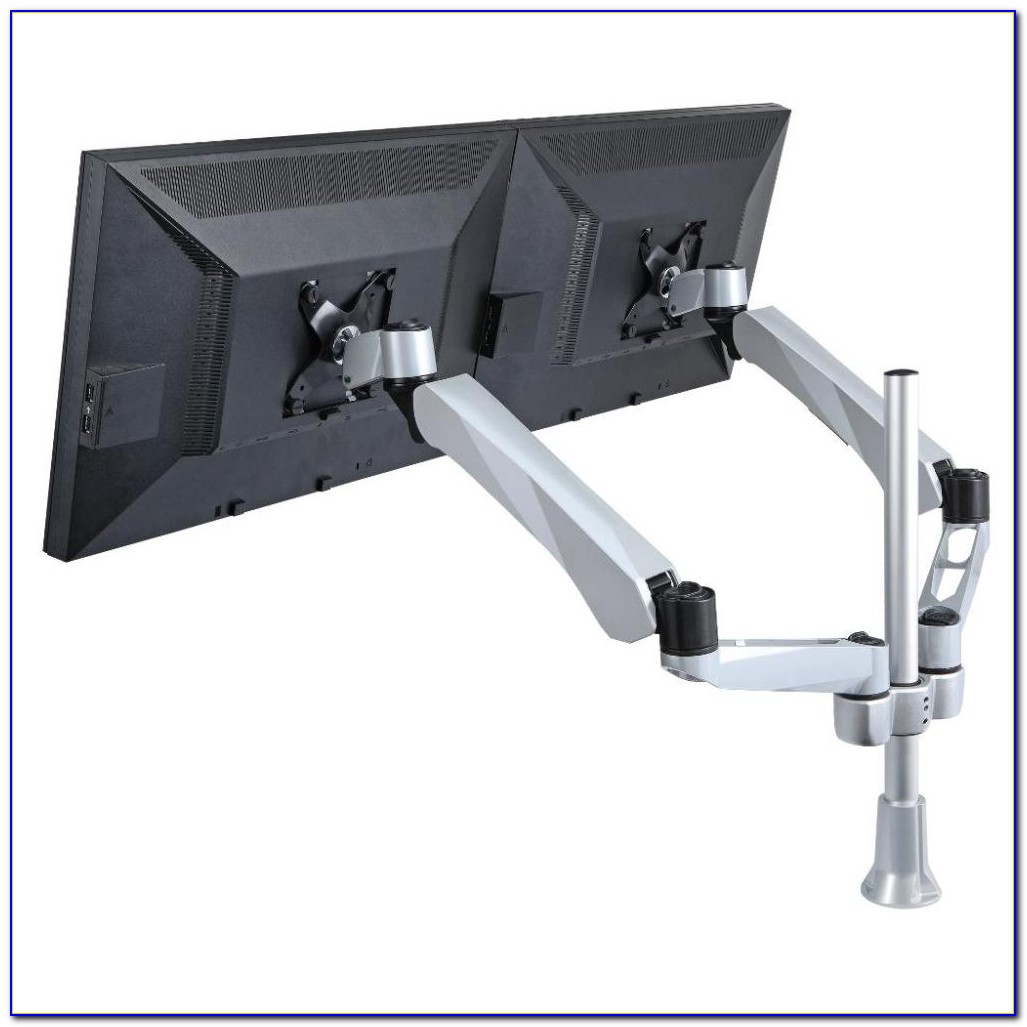 Dual Monitor Arms Desk Mount