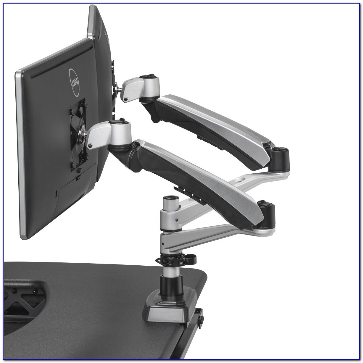 Dual Monitor Arms For Desks