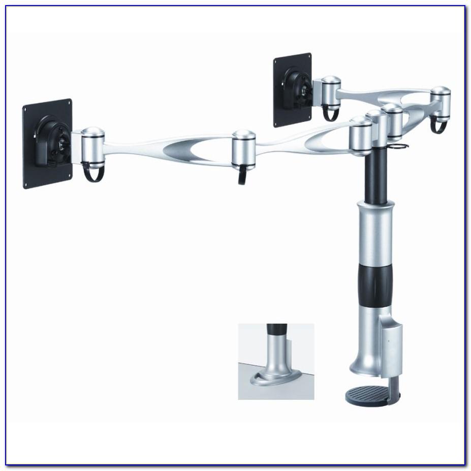 Dual Monitor Swing Arm Desk Mount